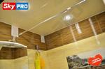 Отзыв о натяжном потолке в ванной комнате