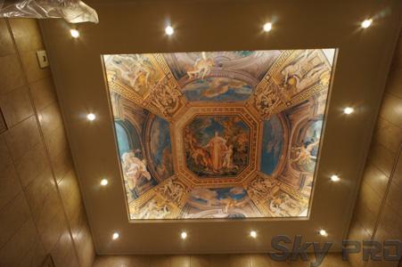 Дизайн потолков с фотопечатью