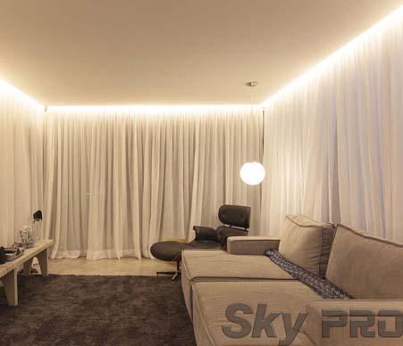 Гардины или шторы с подсветкой по выгодной цене