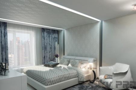 Какой лучше тканевый натяжной потолок использовать?