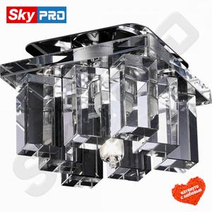Точечный светильник Novotech Карамель 2 Прозрачное стекло