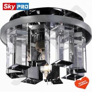 Точечный светильник Novotech Карамель 3 Прозрачное стекло
