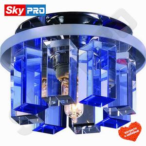 Точечный светильник Novotech Карамель 3 синий