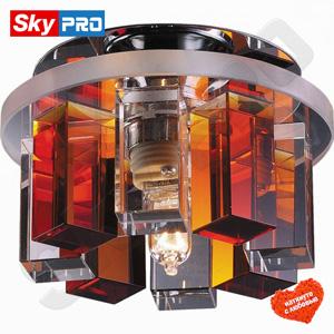 Точечный светильник Novotech Карамель 3 янтарный